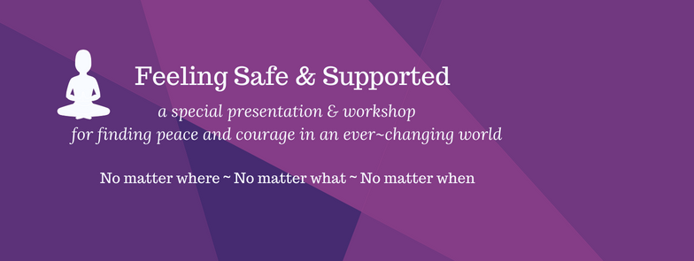 Bonus Event – Feeling Safe And Supported