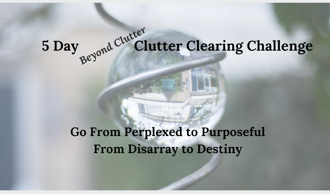 Clutter Clearing Challenge